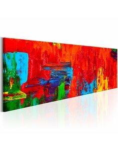 Tableau Fantaisie Fiery Multicolores Artgeist