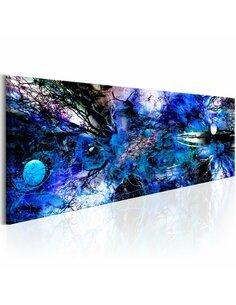 Tableau BLUE ARTISTIC CHAOS - par Artgeist