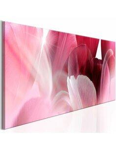 Tableau FLOWERS: PINK TULIPS - par Artgeist