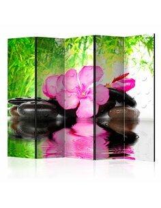 Paravent 5 volets FUZZY REFLECTION II - par Artgeist