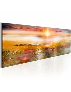 Tableau ORANGE SEA - par Artgeist