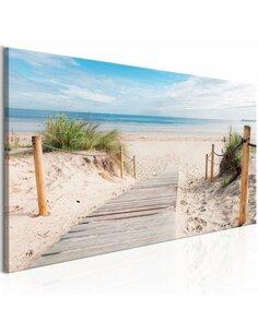 Tableau CHARMING BEACH - par Artgeist