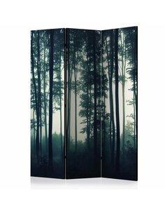 Paravent 3 volets NATURE: DARK FOREST - par Artgeist