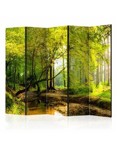 Paravent 5 volets Forêt Clearing II [Salle Intercalaires] Paravents 5 volets Artgeist