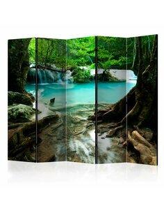 Paravent 5 volets CRYSTAL CLEAR WATER II - par Artgeist