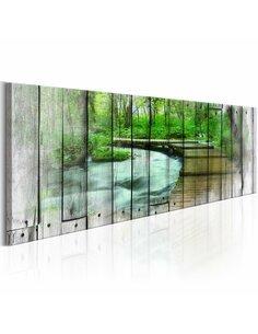 Tableau WALK OF MEMORIES - par Artgeist