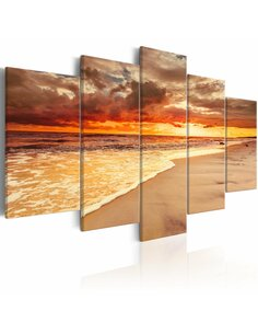 Tableau SEA: BEAUTIFUL SUNSET - par Artgeist