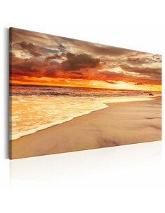Tableau BEACH: BEATIFUL SUNSET II - par Artgeist