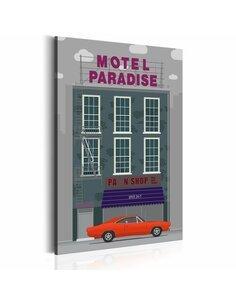 Tableau MOTEL PARADISE - par Artgeist