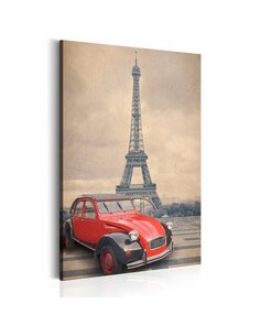 Tableau RETRO PARIS - par Artgeist