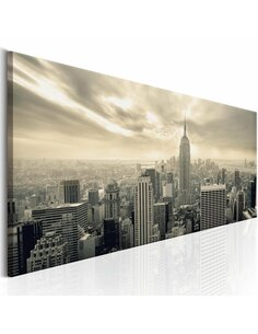 Tableau NY: MORNING SKY - New York par Artgeist