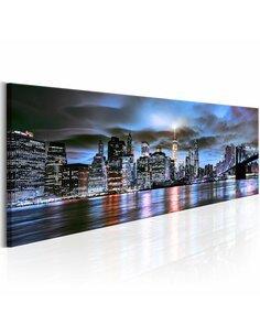 Tableau NYC: CITY LIGHTHOUSE - par Artgeist