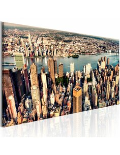Tableau PANORAMA OF NEW YORK - par Artgeist