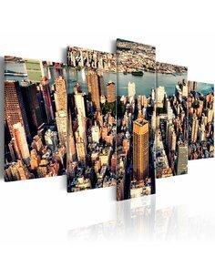 Tableau NEW YORK: SUMMER AFTERNOON - par Artgeist