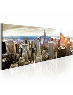 Tableau Manhattan: l'île pour Rich New York Artgeist