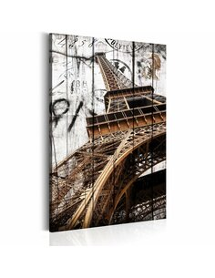Tableau SALUTATIONS DE PARIS - par Artgeist