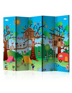 Paravent 5 volets Happy Children II [Salle Intercalaires] Paravents 5 volets Artgeist