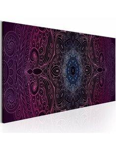 Tableau Mandala pourpre Zen Artgeist