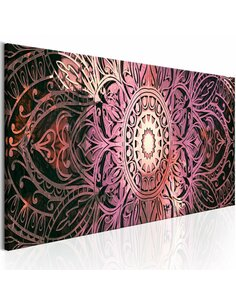Tableau Ruby Mandala Zen Artgeist