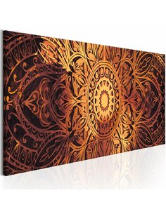 Tableau ambre Mandala Zen Artgeist