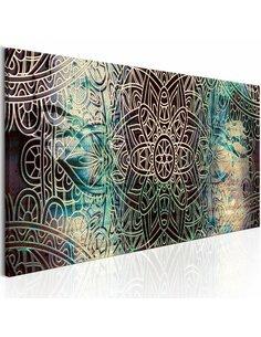 Tableau Mandala: Noeud de la paix Zen Artgeist