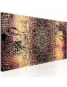 Tableau Mandala: poésie Ensoleillé Zen Artgeist
