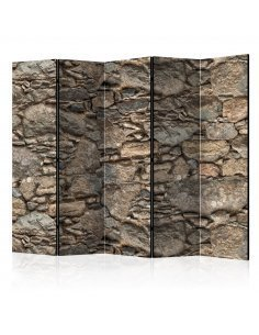 Paravent 5 volets OLD STONE MASONRY II - par Artgeist