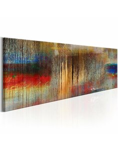 Tableau Rainstorm coloré Modernes Artgeist