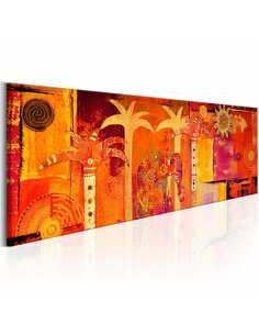 Tableau AFRICAN COLLAGE - par Artgeist