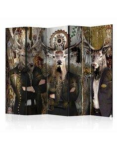 Paravent 5 volets ANIMAL TRIO II - par Artgeist