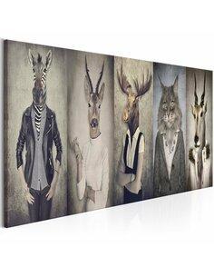 Tableau ANIMAL MASKS - par Artgeist