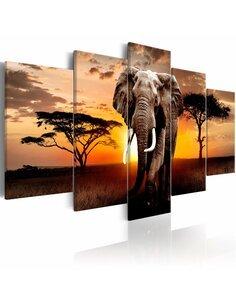 Tableau ELEPHANT MIGRATION - par Artgeist