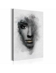 Tableau Portrait gris Portraits Artgeist