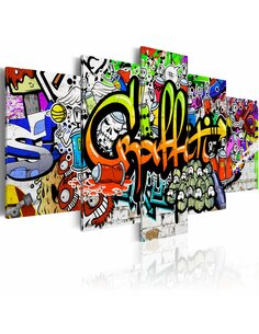 Tableau ARTISTIC GRAFFITI - par Artgeist
