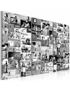 Tableau BANKSY: GRAFFITI COLLAGE III - par Artgeist