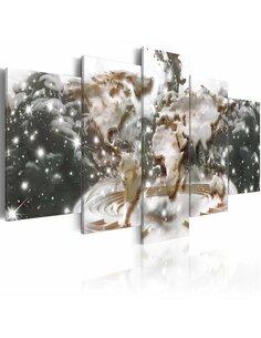 Tableau Carte des étoiles Cartes du monde Artgeist
