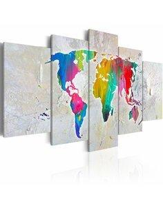 Tableau ENERGY OF WORLD - par Artgeist