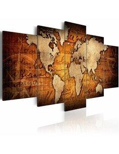 Tableau AMBER MAP - par Artgeist