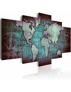 Tableau SAPPHIRE MAP - par Artgeist