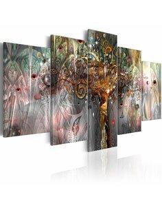 Tableau GOLDEN TREE II - par Artgeist