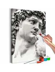 Tableau à peindre soi même SCULPTURE - par Artgeist