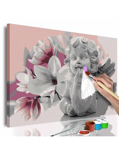 Tableau à peindre soi même ANGEL'S DREAMS - par Artgeist