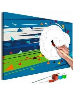 Tableau à peindre soi même SHOOT AND GOAL! - par Artgeist