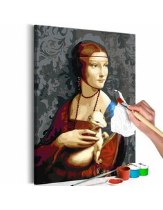 Tableau à peindre soi même FAMOUS PORTRAIT - par Artgeist