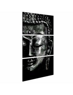 Tableau gris Bouddha Zen Artgeist