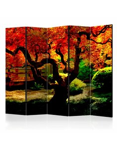 Paravent 5 volets JAPANESE GARDEN II - par Artgeist