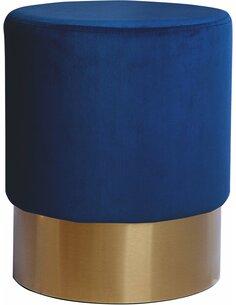 Pouf ASPEN 110 DARK Bleu - par Arte Espina