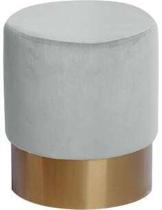 Pouf banquette NANO 110 Blanc Vert Menthe - par Arte Espina