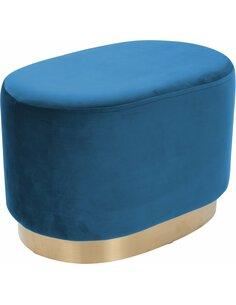 Pouf banquette NANO 210 Bleu - par Arte Espina