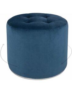 Pouf OTTOMANE PRINCE 110 Bleu - par Arte Espina